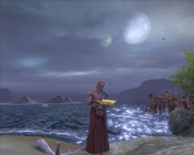 Warhammer Online: Age of Reckoning - Reading romance novels under the moonlight.