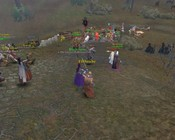 Warhammer Online: Age of Reckoning - We had a good sized tier 2 battle going on. There were a lot more people but they didn't fit in the frame.