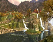 Lord of the Rings Online - Another shot of Rivendell.