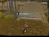 Atlantica Online - My Lvl 39 Gunner in his new Assassin's armor outside my guild's town we control.