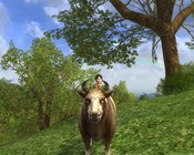 Lord of the Rings Online - Meet Betty the cow.