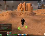 The Secret World - Bugged graphics sprinting with weapon drawn