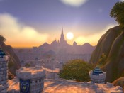 World of Warcraft - Flying above Stormwind