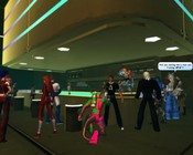 Champions Online - Relaxing at the club.