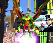 Champions Online - Aztec Tucan in fat form enjoying the game's anniversary.