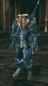 TERA - decided to make my lancer blue