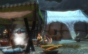 Dragon's Prophet - chillin with a small fish and a few slices of bread. that tent was setup by my mate.