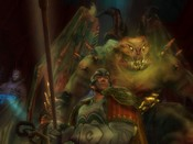 Lord of the Rings Online - Captain and Balrog