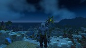 World of Warcraft - My Night Elf's new model