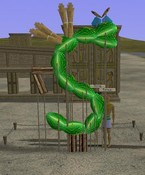 A Tale in the Desert - Trogdor was a sculpture...