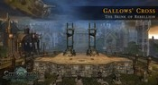Gallows' Cross -- once a stronghold of law, now ruled by rebellious gangs in City of Steam