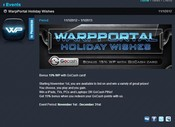 WarpPortal Holiday Wishes