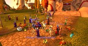 World of Warcraft - Waiting for servers come back online.
