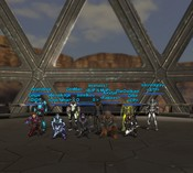 Global Agenda - Group shot before the server went down