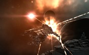 EVE Online - Getting shot at moon