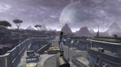 Star Wars: The Old Republic - Overlooking the town on Ord Mantell