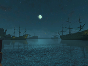 Pirates of the Burning Sea - Moon Over Harbour - Tortuga