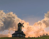 Lord of the Rings Online - sunset in bree