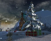 Guild Wars - Christmas tree in Droknar's Forge