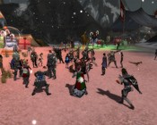 Guild Wars - Wintersday 2008 - Lion's Arch (waiting for the festivities to start)
