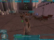 Star Wars Galaxies - First day speeders came out. Coronet Space Port.