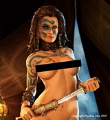 Age of Conan: Unchained - Keaira - Playboy Dec2007