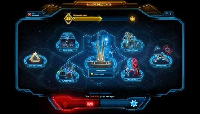 Gear Progression Goes RNG with Eternal Throne's Galactic Command  - Star Wars: The Old Republic News