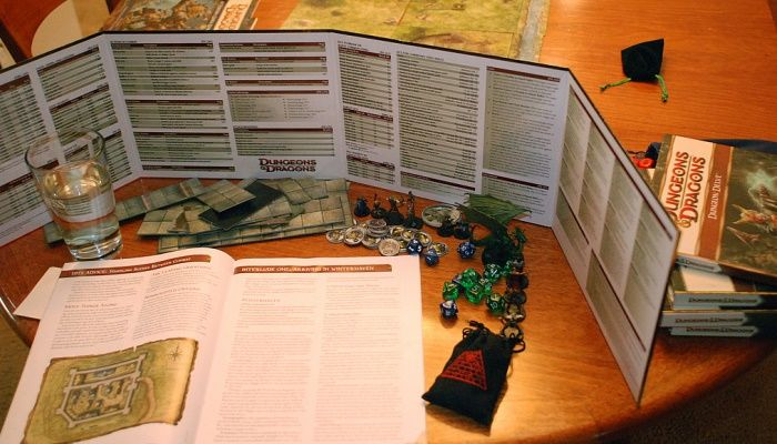 On the Table: D&D and Video Game Folktales