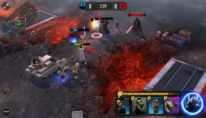 Clash Royale Meets MOBA in Star Wars: Force Arena