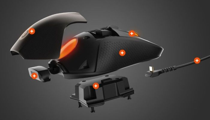 Steelseries Rival 700 Mouse: A Modular Mouse with an OLED Screen