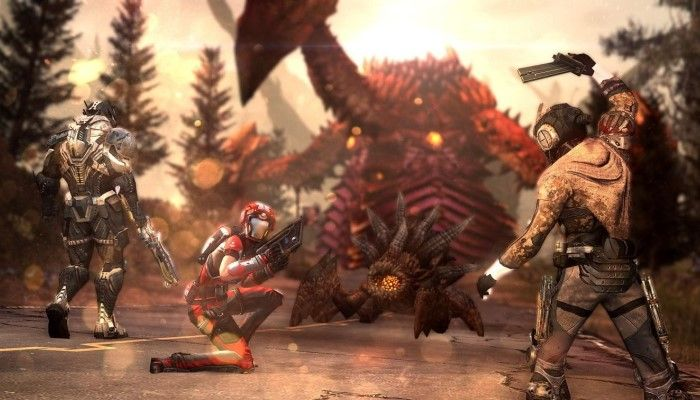 The debut trailer for the new shooter Defiance 2050