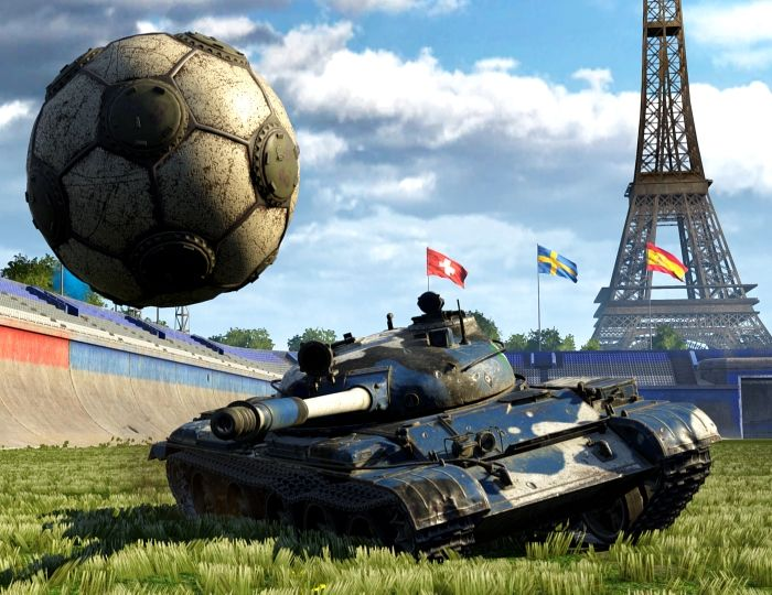 Tank Football Incoming -- Get Ready to Score! - World of Tanks News