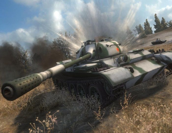PS4 Updated With The Addition Of Chinese Tanks - World of Tanks News