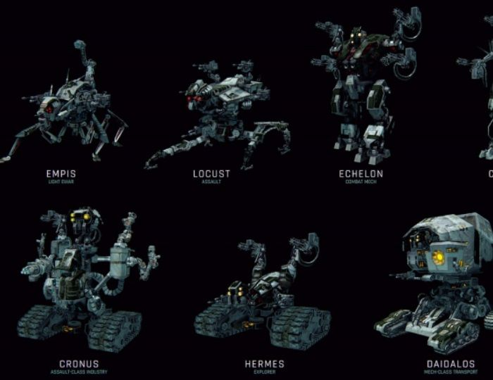 Eleven New Robots Planned & Progression Changes - Perpetuum News