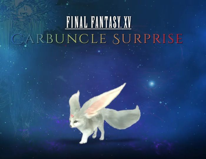 Carbuncle Surprise Promotion Nets Prizes for Players - Final Fantasy XV - MMORPG.com