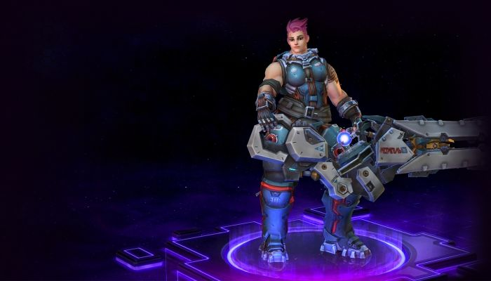 Overwatch's Zarya Now Live on PTR | Heroes of the Storm | MMORPG.com
