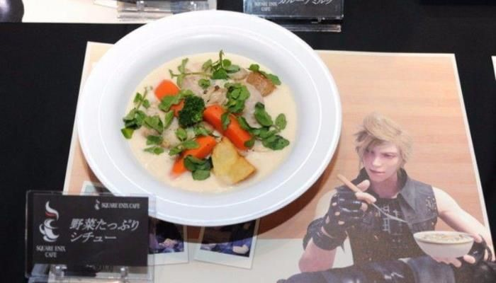 Square Enix Themed Cafe Opens In Japan - Final Fantasy XV News