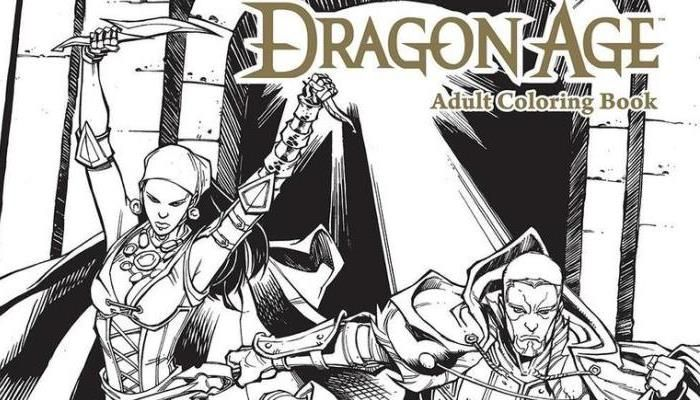 New Comic Series, Adult Coloring Book Coming in 2017 - Dragon Age: Inquisition News