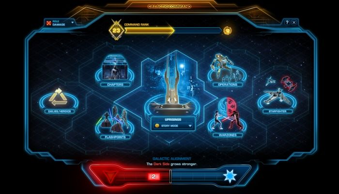 Galactic Command Detailed - Power at Your Fingertips - Star Wars: The Old Republic News