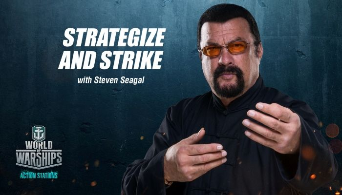 Earn Steven Seagal as a Ship Commander - World of Warships News