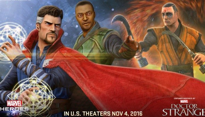Doctor Strange-Inspired Gear & Team-Ups to Deploy This Week - Marvel Heroes 2016 - MMORPG.com