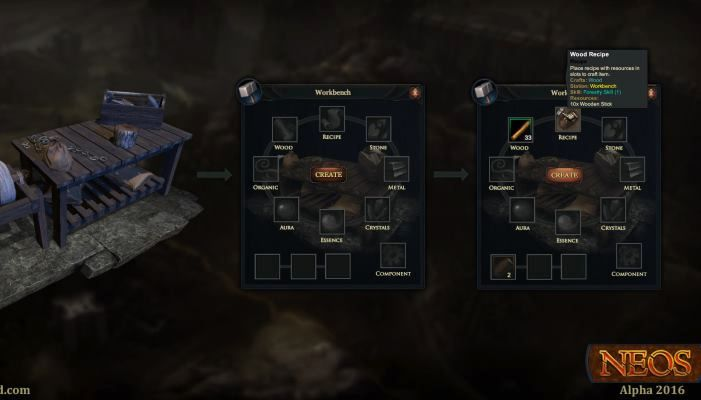 Crafting System Revealed in Latest Developer Blog - Neos Land News