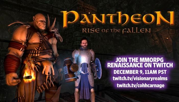 Live Stream Event Coming on Friday with New Stuff to See - Pantheon: Rise of the Fallen - MMORPG.com