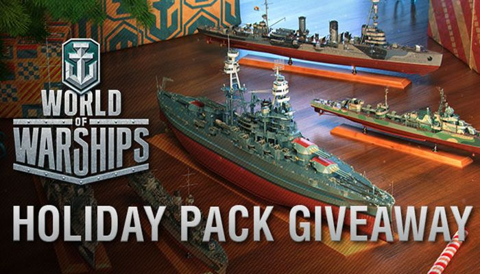 Holiday Pack Giveaway! - World of Warships News