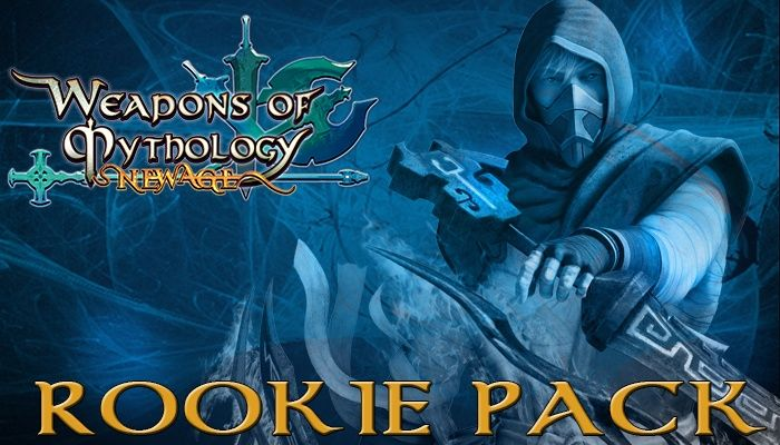 Rookie Pack Giveaway! - Weapons of Mythology - MMORPG.com