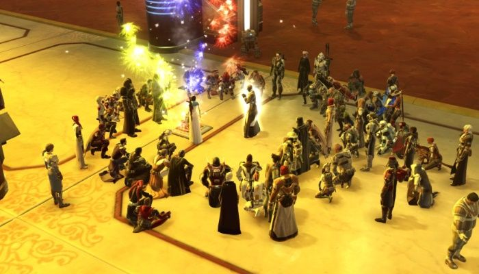 Players Gather on Alderaan to Mourn Carrie Fisher - Star Wars: The Old Republic News