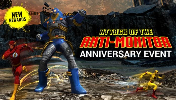 Celebrate the 6th Anniversary with the Anti-Monitor Event - DC Universe Online News