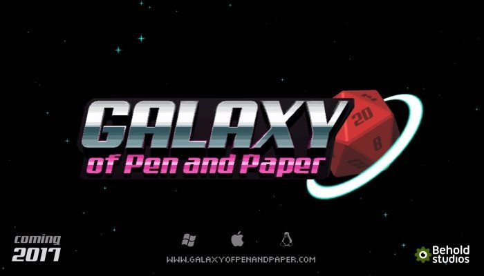 Galaxy of Pen & Paper Announced via Teaser Trailer