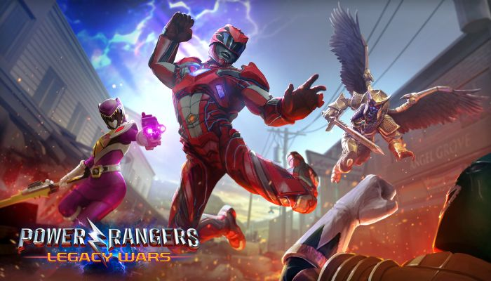 Power Rangers: Legacy Wars Announced by nWay & Lionsgate
