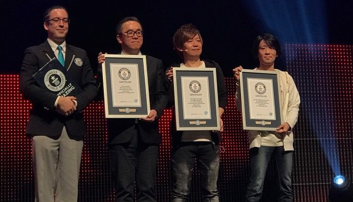 EU Fanfest 2017 - A Trio of Guiness World Records - Final Fantasy XIV News